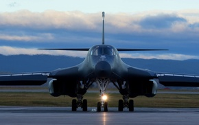 Rockwell B, 1 Lancer, aircraft, Bomber, military aircraft, multiple display