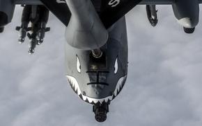 chain guns, mid, air refueling, aircraft, cannons, military aircraft