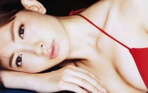 bikini, Kojima Haruna, model, brown eyes, brunette, girl