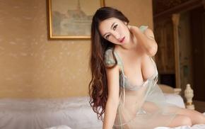 Asian, model, girl