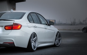 wheels, BMW, vehicle, Stance, camber, white cars
