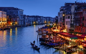 Venice, landscape, Italy, building, city, water