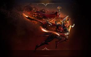 fantasy art, Dota, sword, Valve Corporation, Legion Commander, Defense of the ancient