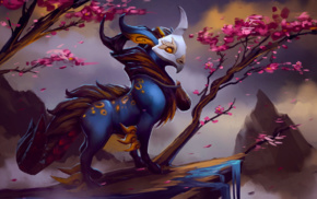 fantasy art, Dota 2, creature, Dota 2 Courier, hero, Defense of the ancient
