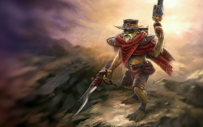 Valve, gun, Defense of the ancient, Dota, hat, Dota 2