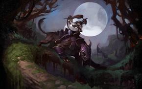 shield, Luna, Dota 2, feline, Valve Corporation, Dota