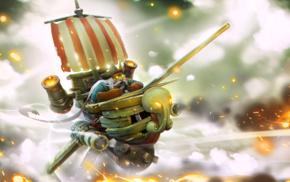 Valve Corporation, Gyrocopter, hero, Dota, Valve, boat