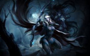 Drow Ranger, bow and arrow, Valve Corporation, hero, bow, Valve