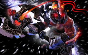 hero, Defense of the ancient, axes, Valve, Axe, Dota