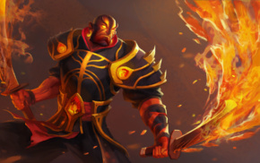 warrior, Ember Spirit, Dota, Valve Corporation, Defense of the ancient, Valve