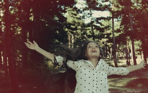 love, jumping, Cure Girl, smiling, Into the Woods, happy