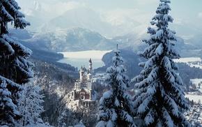 Schloss Neuschwanstein, Germany, winter