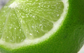 limes, fruit, food, macro