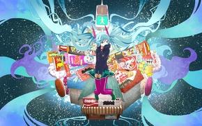 twintails, Vocaloid, Hatsune Miku