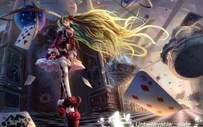 Vocaloid, Hatsune Miku, Alice in Wonderland