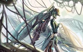 mecha girls, Hatsune Miku, Vocaloid