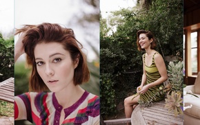 Mary Elizabeth Winstead, celebrity, actress, collage, girl, model