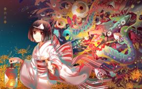 Noragami, kimono, anime girls, Nora Noragami, anime