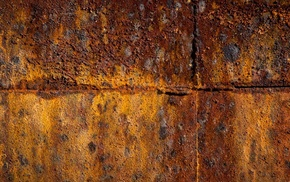 rust, simple, wall, grunge, metal, minimalism