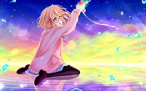 anime girls, Kyoukai no Kanata, anime, Kuriyama Mirai