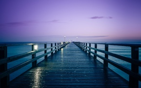 water, sea, photography, rain, pier