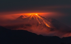 lava, nature, volcano, landscape, photography