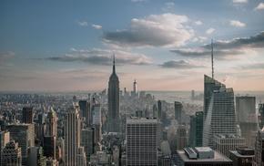 cityscape, building, photography, skyscraper, urban, New York City