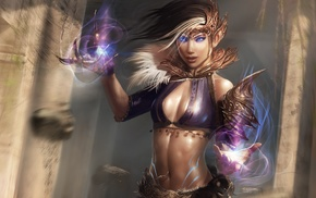 fantasy art, artwork, magician