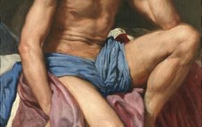 Diego Velzquez, Mars Resting, classic art, Greek mythology, Ares, painting
