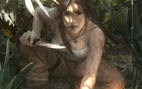 video games, artwork, Lara Croft, Tomb Raider