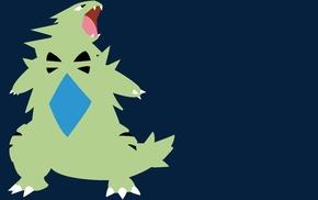 Pokemon Second Generation, minimalism, Pokmon, Tyranitar