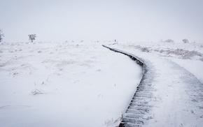 seasons, ice, winter, snow, landscape