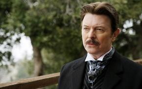 The Prestige, actor, men, Nikola Tesla, depth of field, David Bowie