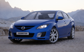 evermotion, Mazda, car