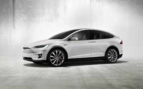 electric car, Tesla Motors, Tesla Model X, car