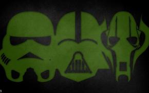 Darth Vader, Star Wars, grievous, stormtrooper