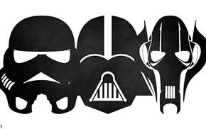 Darth Vader, grievous, stormtrooper, Star Wars