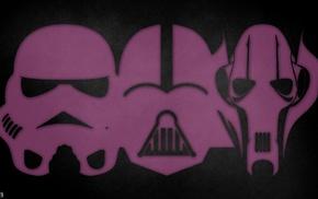Darth Vader, grievous, Star Wars, stormtrooper