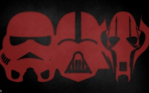 stormtrooper, Darth Vader, Star Wars, grievous