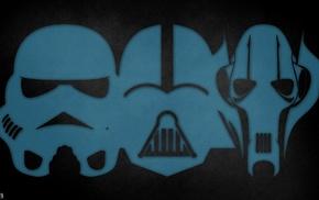 stormtrooper, Star Wars, Darth Vader, grievous
