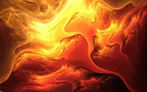 fire, abstract