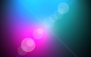 lens flare, abstract