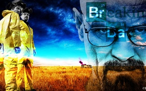 TV, AMC, Bryan Cranston, Breaking Bad, Heisenberg, Aaron Paul