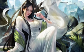 Asian, artwork, girl, fantasy art
