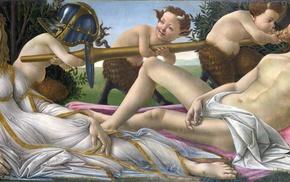 painting, classic art, Greek mythology, Sandro Botticelli