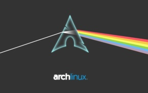 Arch Linux, Linux, Pink Floyd