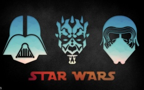 Darth Vader, Kylo Ren, Star Wars, Dark Maul