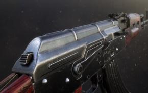 3D, fingerprints, gun, AKM, tim berngholz