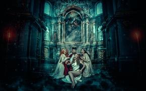 fantasy art, vampires