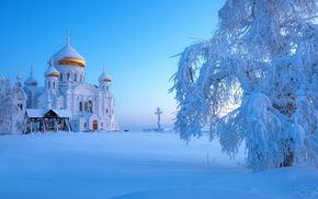Ural, snow, Russia, winter